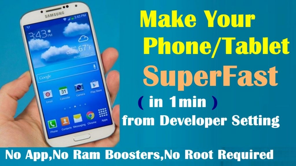 how to clear RAM on android tablet