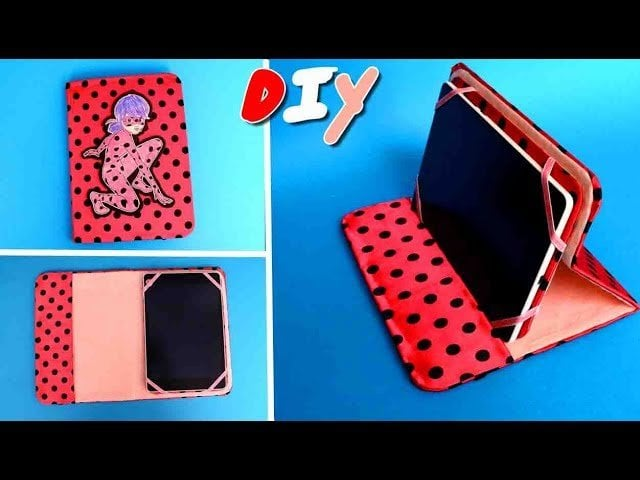 how to make a tablet case out of fabric